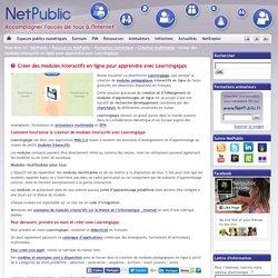 Créer des modules interactifs en ligne pour apprendre avec LearningApps