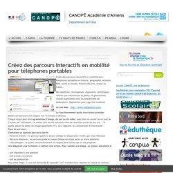 Créez des parcours interactifs en mobilité pour téléphones portables