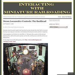 Interacting with Miniature Railroading