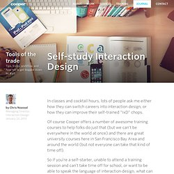 Self-study Interaction Design