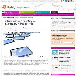 L'e-learning vidéo bénéficie de l'interaction, même différée