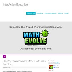 InterAction Education - Premier Educational Games - We make educational games and apps for tablets and mobile phones that help kids learn math and science.