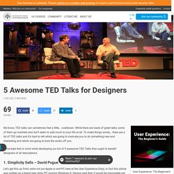 5 Awesome TED Talks for Designers