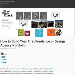 How to Build Your First Freelance or Design Agency Portfolio