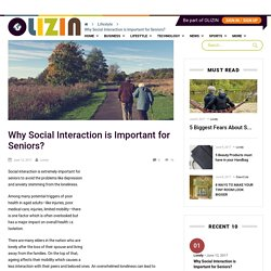 Why Social Interaction is Important for Seniors?