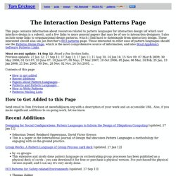 Interaction Design Patterns