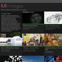 Interaction \/ Minivegas Studio