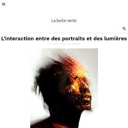 L'interaction entre des portraits et des lumières