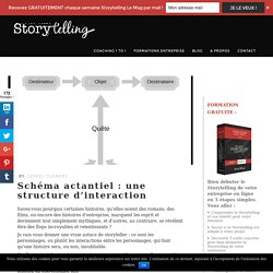 Schéma actantiel : une structure d'interaction - Storytelling.fr