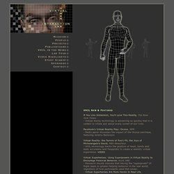 VHIL: Virtual Human Interaction Lab - Stanford University