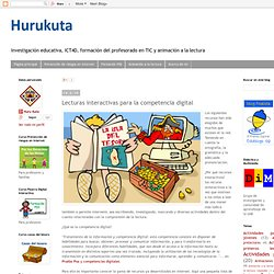 Lecturas interactivas para la competencia digital