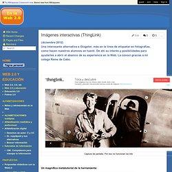 En la Web 2.0 - Imágenes interactivas (ThingLink)