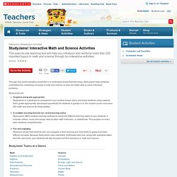 StudyJams! Interactive Math and Science Activities