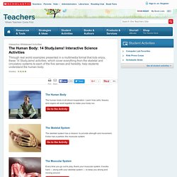 The Human Body: 14 StudyJams! Interactive Science Activities