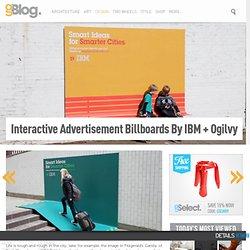IBM urban heist ads Innovative and Interactive Advertisement Billboards by IBM