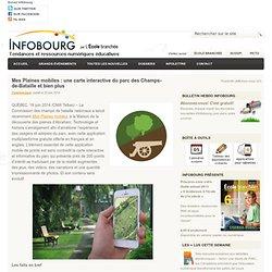 Mes Plaines mobiles : une carte interactive du parc des Champs-de-Bataille et bien plus