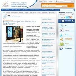 Synergiz lance un concept de vitrine interactive pour le Groupe Beaumanoir