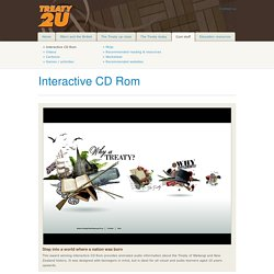 Interactive CD Rom - TREATY 2 U