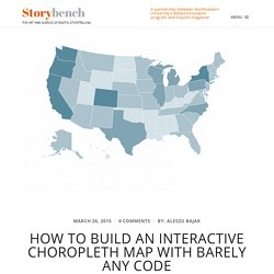 How to build an interactive choropleth map with barely any code