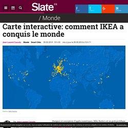 Carte interactive: comment IKEA a conquis le monde