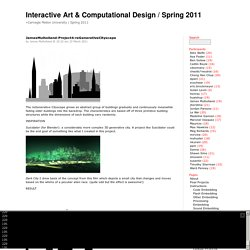 Interactive Art & Computational Design / Spring 2011 » Search Results » blender