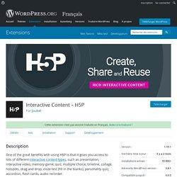 Interactive Content – H5P
