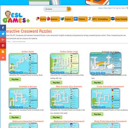 Interactive Crossword Puzzles