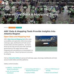 Atlanta Regional Commission - GIS Data & Maps