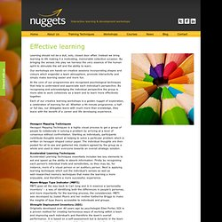 Nuggets of Learning – Interactive learning & development workshops