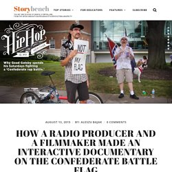 How a radio producer and a filmmaker made an interactive documentary on the Confederate battle flag – Storybench