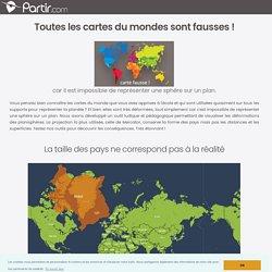 Pourquoi les cartes du monde sont fausses ?