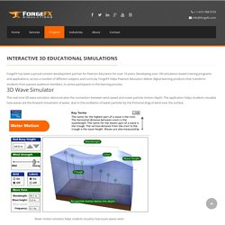 Interactive 3D Educational Simulations - ForgeFX Simulations