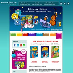 Educational Music Games for Kids: Fun Interactive Classical Music Games for Girls and Boys, Gifts for Kids Galore