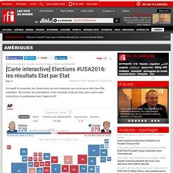 [Carte interactive] Elections #USA2016: les résultats Etat par Etat - Amériques