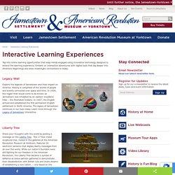Jamestown Settlement & American Revolution Museum at Yorktown Interactive Experiences
