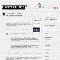 Site des étudiants en Mastère spécialisé Interactive Digital Experiences 2012