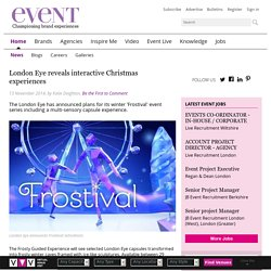 London Eye reveals interactive Christmas experiences