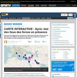 CARTE INTERACTIVE - Syrie: état des lieux des forces en présence