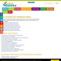 ESL Fun Grammar Games, EFL Interactive Grammar Quizzes