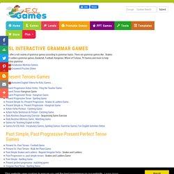 ESL Interactive Grammar Games, EFL Interactive Grammar Quizzes
