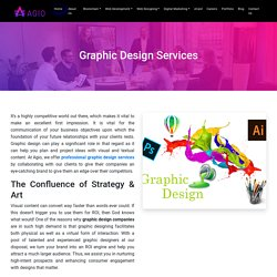 Need you brand Promotions via Graphic Design Agency Services