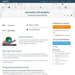 Interactivo Gráficos 3D Curso Con Three.js y WebGL