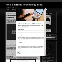 Nik's Learning Technology Blog: Creating engagement through interactive infographics