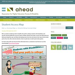 Ahead - Interactive Infomap: Accessing College
