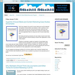 Social Media Case Studies & Examples