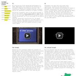 Interactive Media Installation