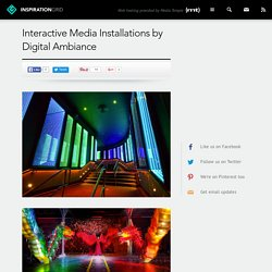 Interactive Media Installations by Digital Ambiance