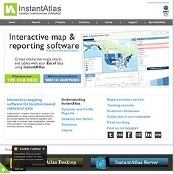 Data visualization software & Data Presentation Software - InstantAtlas
