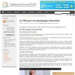 Une pédagogie interactive avec les TBI