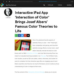 Interactive iPad App 'Interaction of Color' Brings Josef Albers' Famous Color Theories to Life